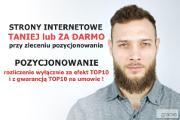 Zdjęcie do ogłoszenia: Strony internetowe Słupsk + pozycjonowanie z gwarancją TOP10!