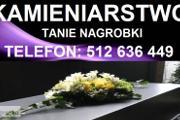 Zdjęcie do ogłoszenia: +++TANIE NAGROBKI PONIKIEW, NIDEK, ŁĄCZANY+++ tel: 512 636 449