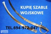 Zdjęcie do ogłoszenia: KUPIĘ WOJSKOWE STARE SZABLE,BAGNETY,MUNDURY TELEFON 694972047