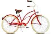 Zdjęcie do ogłoszenia: Rower damski miejski beach Cruiser ROSIE NOWY 3biegi RoyalBi