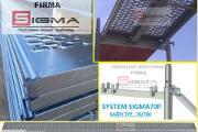 Zdjęcie do ogłoszenia: Podest Stalowy Blat Metalowy 2,5m Sigma70P do rusztowania