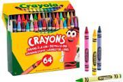 Zdjęcie do ogłoszenia: Kredki Woskowe Crayola 64 kolory