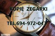 Zdjęcie do ogłoszenia: KUPIE ZEGARKI,MĘSKIE NAĘCZNE,KIESZONKOWE TELEFON 694-972-047