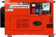 Zdjęcie do ogłoszenia: Agregat prądotwórczy trójfazowy KRAFTWELE SDG9800S 9.5kW!