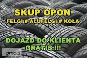 Zdjęcie do ogłoszenia: Skup Opon Alufelg Felg Kół Nowe Używane Koła Felgi # ŁÓDZKIE # PĘCZNIEW