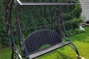 Zdjęcie do ogłoszenia: Huśtawka ogrodowa metalowa