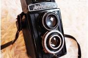 Zdjęcie do ogłoszenia: Pierwszy model lustrzanki aparat Lubitel pisany cyrylicą!