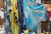 Zdjęcie do ogłoszenia: Luksusowy dywan ze skóry bawolej stylizowany. Nowość 2020
