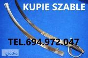 Zdjęcie do ogłoszenia: KUPIE WOJSKOWE STARE SZABLE,BAGNETY,KORDZIKI,MUNDURY TELEFON 694-972-047
