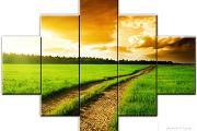Zdjęcie do ogłoszenia: Obraz na płótnie 150x100cm 5 cz.eko-farby,lakier