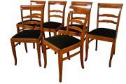 Zdjęcie do ogłoszenia: Krzesła art deco, 6 krzeseł sygnatura gościcino stare antyki