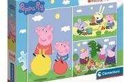 Zdjęcie do ogłoszenia: Puzzle Świnka Peppa Pig 3x48 el.