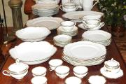 Zdjęcie do ogłoszenia: Porcelana Rosenthal VIKTORIA 1938r. Serwis obiadowo-kawowy 6 osób / 53 elementy