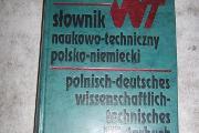 Zdjęcie do ogłoszenia: Słownik naukowo techniczny polsko - niemiecki. Praca Zbiorow 1998