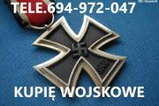 Zdjęcie do ogłoszenia: Kupie stare wojskowe odznaczenia,odznaki,medale telefon 694972047