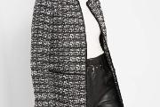 Zdjęcie do ogłoszenia: Nowy płaszcz Orsay L 40 biały czarny pepitka płaszczyk prosty pudełkowy