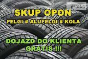 Zdjęcie do ogłoszenia: Skup Opon Alufelg Felg Kół Nowe Używane Koła Felgi # OPOLSKIE # LUBRZA