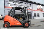 Zdjęcie do ogłoszenia: Wózek widłowy Linde H30D przesuw boczny 3 TONY 3000 kg 3.3 m / BD-4571