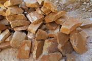 Zdjęcie do ogłoszenia: Kamień ogrodowy piaskowiec naturalny łupek płaski cegła na mur skalniaki