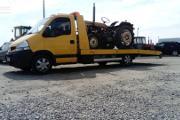 Zdjęcie do ogłoszenia: przewóz przyczep rozrzutników owijarek belar belarek maszyn rolniczych Jeruzal 510-034-399 laweta Jeruzal
