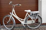 Zdjęcie do ogłoszenia: Rower miejski Batavus Diva biały damka