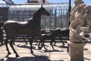 Zdjęcie do ogłoszenia: Rzeźba Koń z brązu H240cm i wiele innych XXL figur