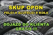 Zdjęcie do ogłoszenia: Skup Opon Alufelg Felg Kół Nowe Używane Koła Felgi # ŁÓDZKIE # BRZEZINY