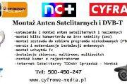 Zdjęcie do ogłoszenia: Montaż Anten ROKIETNICA, KIEKRZ, CHYBY TEL: 500-450-247