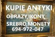 Zdjęcie do ogłoszenia: KUPIE ANTYKI,SREBRO,MONETY,ZEGARKI,IKONY TELEFON 694-972-047