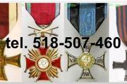 Zdjęcie do ogłoszenia: Kupie stare ordery, odznaki,odznaczenia, medale tel.518-507-460