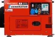 Zdjęcie do ogłoszenia: Agregat prądotwórczy jednofazowy KRAFTWELE SDG9800S1F 9.5kW