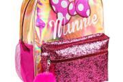 Zdjęcie do ogłoszenia: Brokatowy Plecak Szkolny Myszka Minnie Mouse dla Dziecka