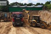 Zdjęcie do ogłoszenia: Usługi koparko ładowarką , Prace ziemne, Koparka, Wywrotka, Transport
