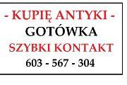 Zdjęcie do ogłoszenia: Zadzwoń - ZDECYDOWANIE KUPIĘ ANTYKI za GOTÓWKĘ - ŻMIGRÓD i okolice !