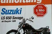 Zdjęcie do ogłoszenia: Instrukcja napraw obsługi Suzuki LS 650 Savage od 1986