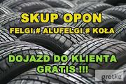 Zdjęcie do ogłoszenia: Skup Opon Alufelg Felg Kół Nowe Używane Koła Felgi # OPOLSKIE # ŁUBNIANY