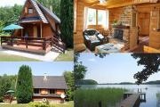 Zdjęcie do ogłoszenia: Ińsko Domek nad jeziorem (W Ińskich Parkach Krajobrazowych )