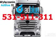 Zdjęcie do ogłoszenia: Wyłączanie AdBlue Mercedes Actros MP4 BLUETEC 5 EURO 5 BIAŁYSTOK