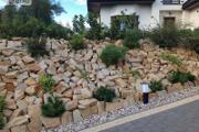 Zdjęcie do ogłoszenia: Kamień ogrodowy do ogrodu płaski dzikówka piaskowiec skalniak grilla