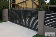 Zdjęcie do ogłoszenia: Brama wjazdowa przesuwana profil 60x40 długość 5 m Naprawa bram faac