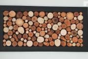 Zdjęcie do ogłoszenia: Obraz 120x60cm, panel plaster drewna, drewniana rama, wysyłka