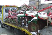 Zdjęcie do ogłoszenia: transport lawetą agregatów maszyn rolniczych bobcatów quadów ładowarek