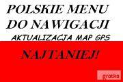 Zdjęcie do ogłoszenia: Polskie Mapy Menu Lektor do Nawigacji Samochodowych GPS Łódź Pabianice