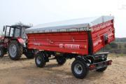Zdjęcie do ogłoszenia: Przyczepa rolnicza dwuosiowa T710 6t lub 8t METAL-FACH
