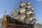 Zdjęcie do ogłoszenia: Drewniana Replika statku żaglowca Sovereign Of the Seas 105cm i inne Unikaty kolekcjonerskie !