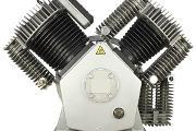 Zdjęcie do ogłoszenia: Pompa powietrza dwustopniowa Sprężarka tłokowa Kompresor 1720l/min Land Reko PCA D1000
