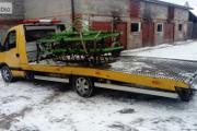 Zdjęcie do ogłoszenia: Transport pługów Kałuszyn laweta przewóz rozrzutników Kałuszyn laweta