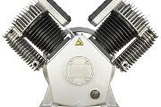 Zdjęcie do ogłoszenia: Pompa powietrza dwustopniowa Land Reko Sprężarka tłokowa Kompresor 1720l/min