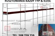 Zdjęcie do ogłoszenia: RUSZTOWANIA 440m2 już od 15850 zł - Dostawa Cała Polska NOWE Rusztowanie KAŻDY TYP KAŻDA ILOŚĆ