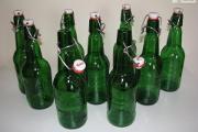 Zdjęcie do ogłoszenia: Butelki z pałąkiem po piwie Grolsch czyste, bez etykiet z porcelanowym korkiem